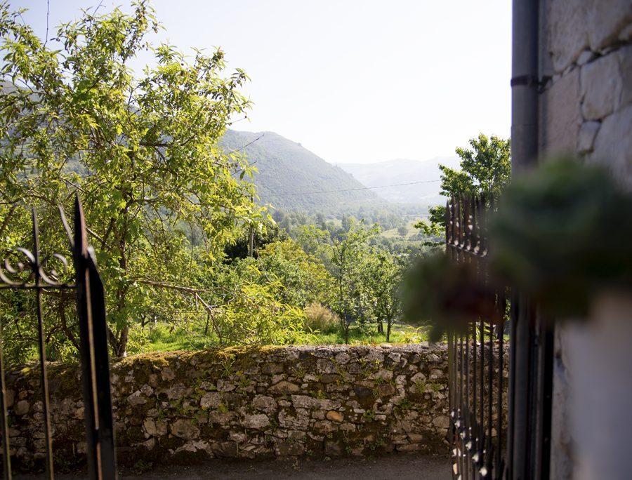 Detalle de las vistas hacia el exterior