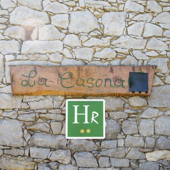 Letrero exterior La Casona de Belmonte